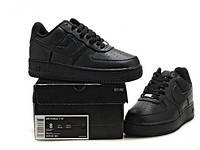 Кроссовки мужские NIke Air Force Low Черные. кроссовки цена, кроссовки магазин