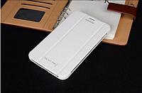 "[ Samsung Galaxy Tab 3 7.0"" Т110 Т111 ] Чехол-книжка для планшета Самсунг белый"