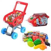 Детская тележка 668 C-1 с продуктами