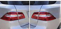 Mercedes ML W166 W 166 хромовые ободки накладки на стопы фонари