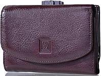 Кожаный элегантный кошелек для женщин WANLIMA (ВАНЛИМА) W50040270473-coffee коричневый