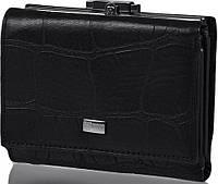 Стильный, элегантный кожаный кошелек для женщин WANLIMA (ВАНЛИМА) W72042410015-black