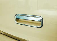 Накладка на заднюю ручку багажника Volkswagen Caddy 2010+ г.в. нержавейка