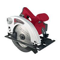Пила дисковая, 1200 Вт, 4500 об/мин, угол 90-45°, глубина распила 63/38 мм, d=20 ммx185 мм INTERTOOL DT-0612