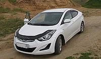 Дефлектор капота VIP TUNING Hyundai ELANTRA с 2011 г.в. длинная