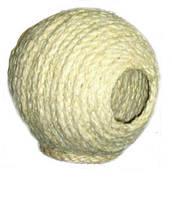 Гнездо - шар для птиц Лори Д030/2, сезаль, 13см