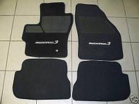 Mazda 3 хэтчбек 07-09 коврики MazdaSpeed велюровые новые оригинал