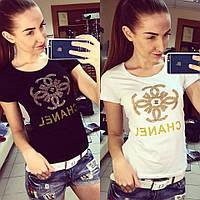 Брендовая футболка Chanel