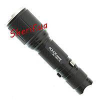 Фонарик светодиодный Bailong Police BL-1860-T6 (Cree XM-L) аккумулятор
