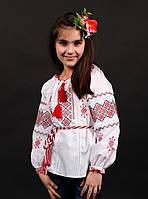 Детская вышитая сорочка для девочки с орнаментом