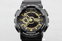 Casio G-Shock ga-110 Black-Gold (Касио джи шок оптом)