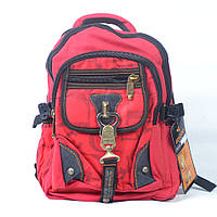 Фирменный молодежный универсальный рюкзак Gold Be! - В313 (красныйк)