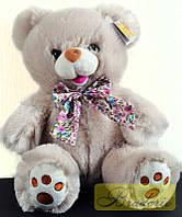Мягкая игрушка Медведь с бантом 25 см 7205-25 (Светлый)