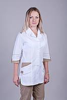 Отличный медицинский костюм рукав 3/4 батал