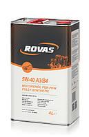 Rovas 5w40 A3/B4