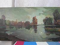 Картина масло картон художник Хоров