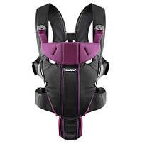 Рюкзак кенгуру BabyBjorn Miracle черно-фиолетовый