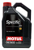 Масло моторное  5W-30 (5 л.) Motul Specific 913 D