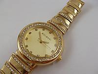 Часы Bvlgari 013324 женские золотистого цвета