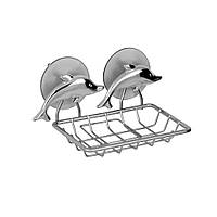 """Подвесная мыльница-сетка на присоске """"Дельфин""""23454"""
