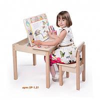 Столик трансформер для творчества детский