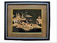 Картина из пробкового дерева (33х33 см)