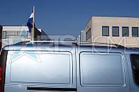 Рейлинги на крышу Хром Fiat Doblo 2000-2010 (Длинная база)