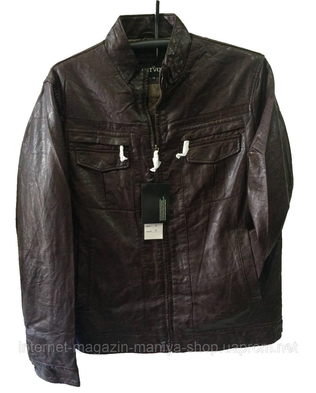 Мужские Куртки Кожзам Купить