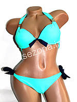 Женский купальник Teres 2123 бирюзовый