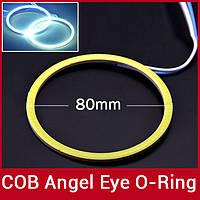 Светодиодное кольцо LED COB 80mm WHITE