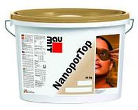 """Штукатурка нанопор """"барашек"""" зерно 1,5мм Baumit Nanopor Top 1,5K, 25кг"""