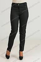 Женские укороченые брюки Флорида черного цвета