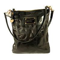 Кожаная женская сумочка, клатч, планшет Marc Jacobs 901 черная, расцветки