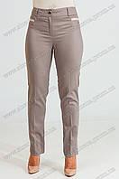 Женские укороченые брюки Флорида бежевого цвета