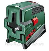 BOSCH PCL 20 - Лазер с перекрестными лучами с функцией отвеса (лазерный уровень)