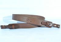Ремень на ружье 35 мм черный , коричневый