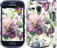 "Чехол на Samsung Galaxy S3 mini Цветы акварелью ""2237c-31"""