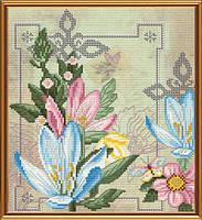 Набор для вышивки в смешанной технике Цветы жизни ННД4069