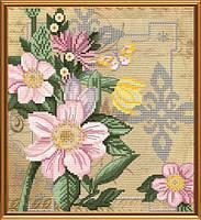 Набор для вышивки в смешанной технике Цветы любви ННД4070