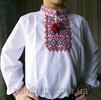 Красивая детская сорочка вышиванка  с длинным рукавом для мальчика