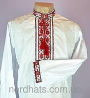 Качественная сорочка вышиванка для мальчика подростка