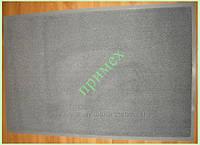 Ковер придверный влагопоглощающий 80х120см., цвет серебристый. Грязезащитный коврик Киев купить