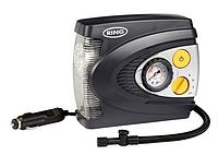 Компрессор автомобильный поршневой c LED фонарем Ring RAC625 ➤ 20 л./мин.