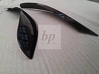 Реснички передних фар Hyundai accent i25 / solaris (хюндай акцент/ солярис 2011+)