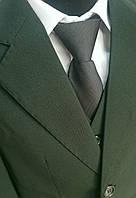Костюм в школу для мальчика V.G. BOZER, зеленый (тройка: пиджак, брюки, жилетка)V.G.BOZER