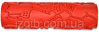 Валик структурный, декоративный, резиновый № 51, каркас 180 мм , код  702-735