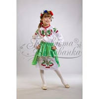 Заготовка для вышивки бисером детского платья ПД-002