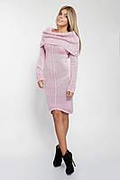 Платье с шалевым воротником 180