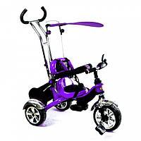 Детский трехколесный велосипед с ручкой Combi Trike BT-CT-0012