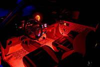 RGB подсветка салона—многоцветная